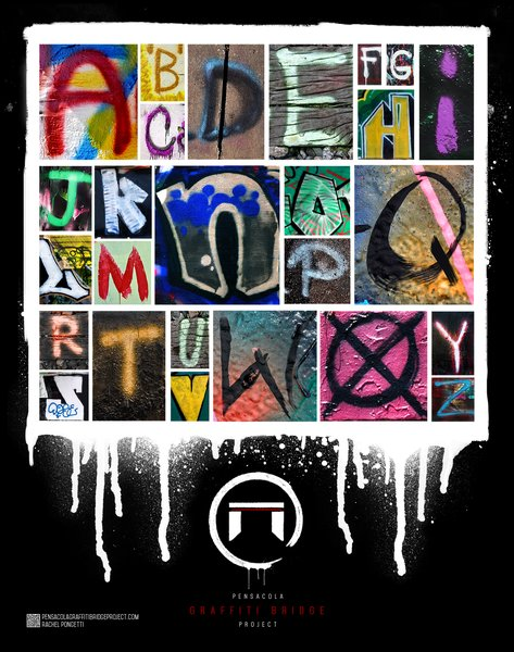 ABC Graffiti Poster