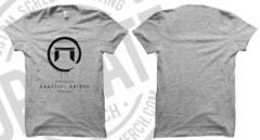 Heather Grey T-Shirt- Logo on Front