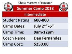 Summer Camp Intermediate, July 2nd -6th