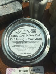 Hawaiian Lava Black Coal & Sea Salt Exfoliating Mask
