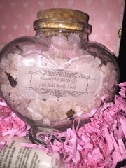 Sea Salt Body Soak- DetoxifyingButterfly Rose with Himalayan and Dead Sea Salts