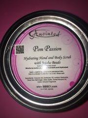 Pom PassionHydrating Hand and Body Scrub with Jojoba Beads