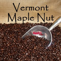 Vermont Maple Nut Fresh Roasted Gourmet Flavored Coffee