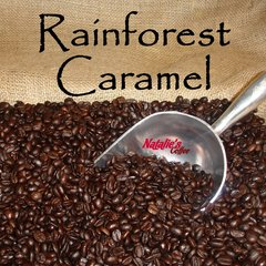 Rainforest Caramel Crunch Gourmet Flavored Coffee
