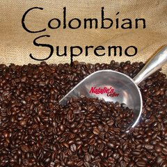 Colombian Supremo Fresh Roasted Gourmet Coffee 12 oz bag