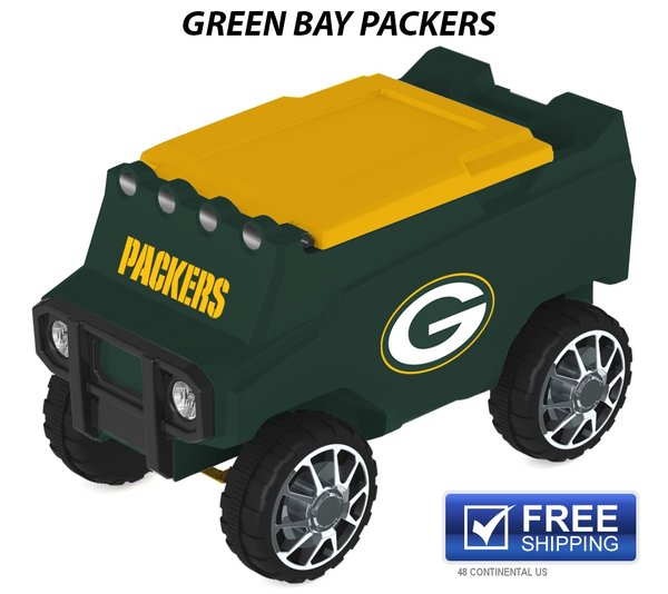 Green Bay Packers Rc Cooler C3 Custom Coolers