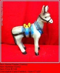 Plaster Donkey - #1524Q