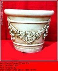 Vurtain Flower Pot - #1528T