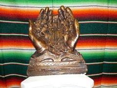 Lg Praying Hands Copper - #7274