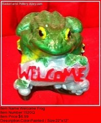 Welcome Frog - #1520Q
