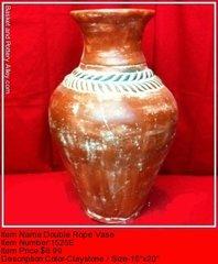 Double Rope Vase - #1525E