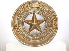 State of Texas Plaque - #65009