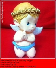 Baby Boy Dolly  Angel - #1555A
