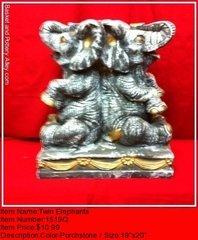 Twin Elephants - #1519Q