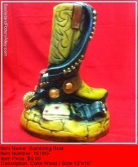 Gambling Boot - #1518G