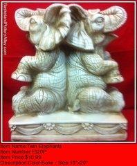 Twin Elephants - #1520P