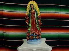 Guadalupe with Roses - #7335