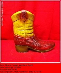Large Western Boot - #1539G