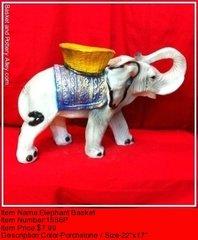 Elephant Basket - #1556P