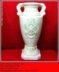Emblem Urn - #1513F