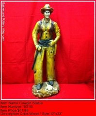 Cowgirl Statue - #1531G