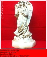 Scroll Angel - #1503A