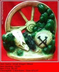 Small Wagon Wheel - #1523G