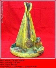 Tepee Statue - #1506G