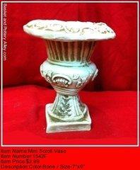 Mini Scroll Vase - #1542F