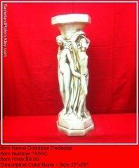 Goddess Pedestal - #1556C