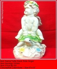 Turtle Back Ride Angel - #1504A