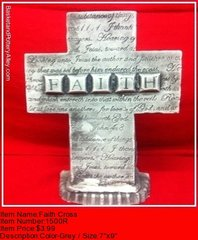 Faith Cross - #1500R