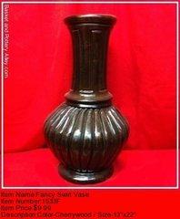 Fancy Swirl Vase - #1533F