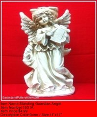 Standing Guardian Angel - #1501A