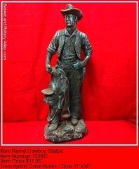 Cowboy Statue - #1538G