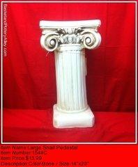 Lareg Snail Pedestal - #1544C