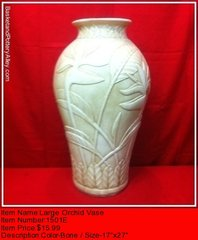 Lareg Orchid Vase -#1501E