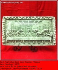 Medium Last Supper Plaque - #1533R