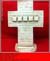 Faith Cross - #1501R