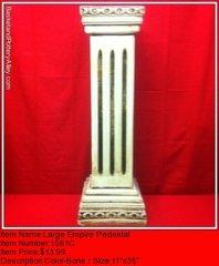 Large Empire Pedestal - #1561C