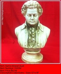 Mozart Bust - #1500M