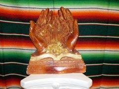 LG Praying Hands Wood - #4312