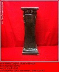 Large Curtain Pedestal - #1540C