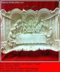 Elegant Last Supper Plaque - #1532R