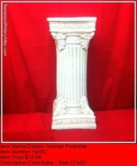Double Grecias Pedestal - #1549C
