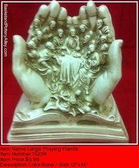 Large Praying Hands - #1523R