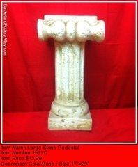 Larege Stone Pedestal - #1537C