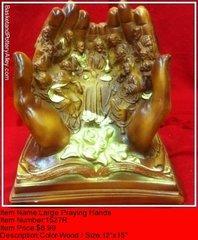 Large Praying Hands - #1527R