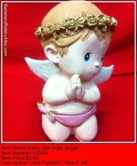 Baby Girl Doll Angel - #1556A
