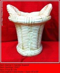 2 Handle Basket - #1542T